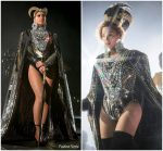 Beyonce Knowles In Custom Balmain @ Coachella