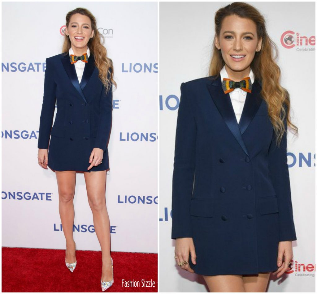 Blake Lively In Sonia Rykiel @ 'A Simple Favor' CinemaCon ...