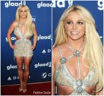Britney Spears In Giannina Azar  @ 2018 GLAAD Media Awards In Los Angeles