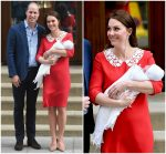 Catherine, Duchess of Cambridge & Prince William's Newborn  Makes His First Public Appearance