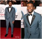 Chadwick Boseman In Prada @ 2018 NAACP Image Awards.