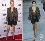 Charlize Theron In Saint Laurent  @'Tully' San Francisco Film Festival Premiere