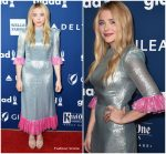 Chloe Grace Moretz In  The Vampire's Wife @  2018 GLAAD Media Awards Los Angeles
