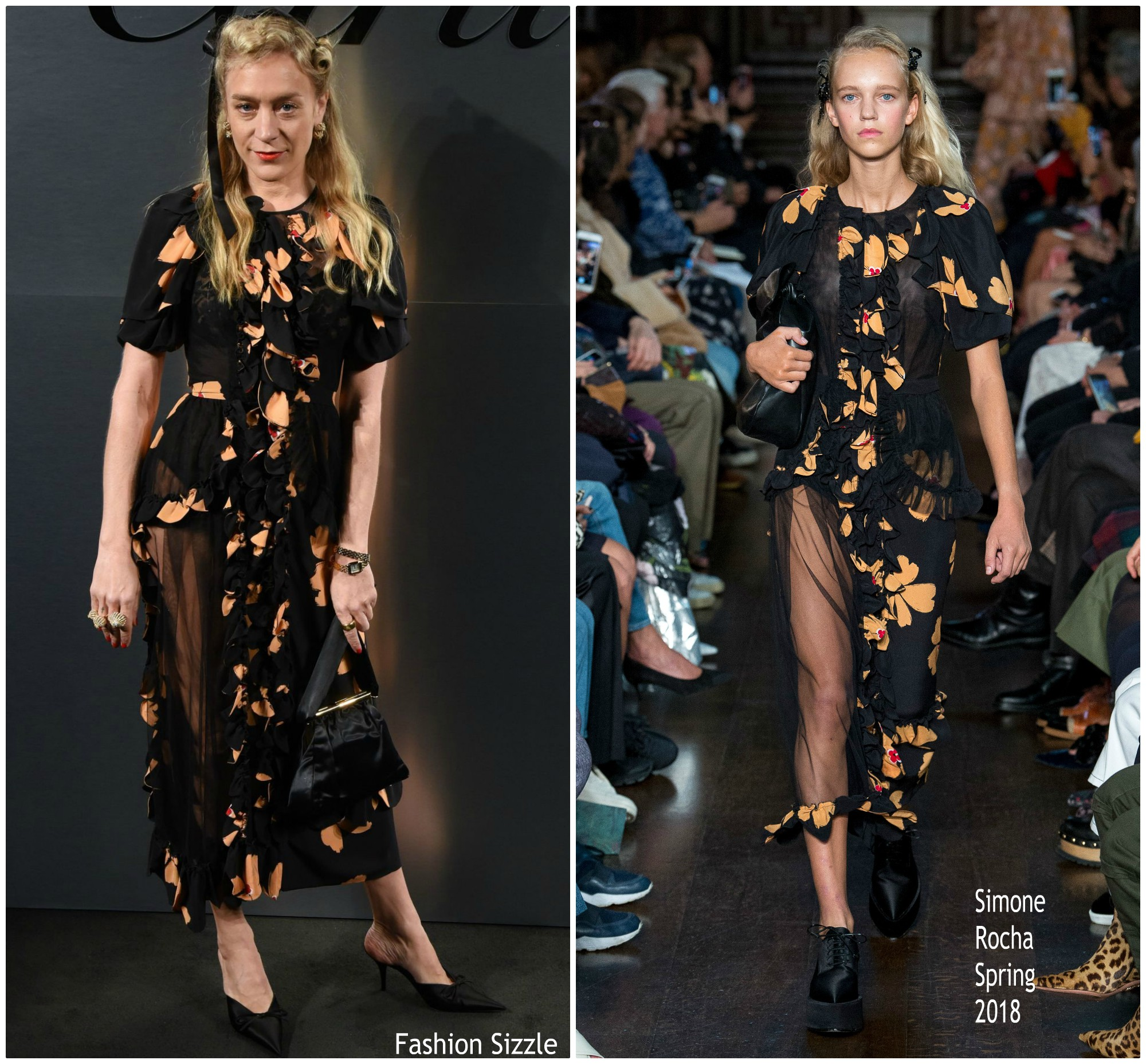 chloe-sevigny-in-simone-rocha-bold-fearless-santos-de-cartier-watch-launch