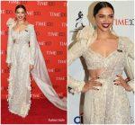 Deepika Padukone In Anamika Khanna  @ 2018 Time 100 Gala