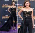Elizabeth Olsen In Oscar de la Renta  @ 'Avengers: Infinity War' LA Premiere
