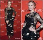 Emily Blunt  In Brock Collection @  2018 Time 100 Gala in New York
