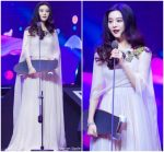 Fan Bingbing   In Alexander McQueen  @ 2018 Youku Young Choice Ceremony