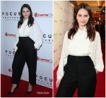 Felicity Jones in Valentino @  Focus Features Presentation at CinemaCon