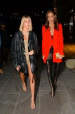 Hailey Baldwin and Joan Smalls  Attends  Gigi Hadid  23rd Birthday Party In New York