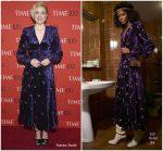 Greta Gerwig In Gucci  @ 2018 Time 100 Gala