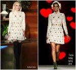 Gwen Stefani In Teresa Helbig  @ The Ellen DeGeneres Show