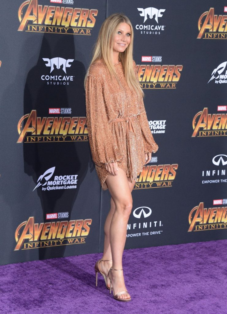 Gwyneth Paltrow In Retrof 234 Te Avengers Infinity War La