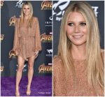 Gwyneth Paltrow In Retrofête  @  'Avengers: Infinity War' LA Premiere