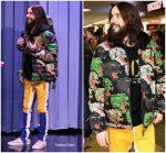 Jared Leto In Gucci  @  'America' Album Launch