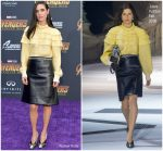 Jennifer Connelly In Louis Vuitton  @ 'Avengers: Infinity War' LA Premiere