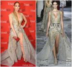 Jennifer Lopez  In Zuhair Murad  @ 2018 Time 100 Gala in New York