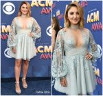 Julia Michaels In Paolo Sebastian Couture  @ 2018 ACM Awards