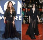 Karen Fairchild In  Christian Siriano  @ 2018 ACM Awards