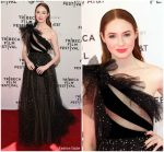 Karen Gillan In Valentino  @ 'The Party's Just Beginning' Tribeca Film Festival Premiere