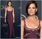 Katie Holmes In Zac Posen  @  Brooks Brothers Bicentennial Celebration