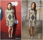 Katja Herbers In Giamba @  Westworld' Season 2 LA Premiere Red Carpet
