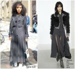 Kerry Washington  In  Michael Kors Collection Out In New York