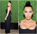Kim Kardashian West in Versace @  KKW x Mario Dinner In LA