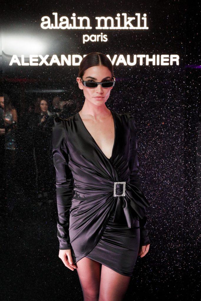 77e9119568f09 Lily Aldridge In Alexandre Vauthier   Alain Mikli x Alexandre ...