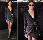 Lily Aldridge  In Alexandre Vauthier @  Alain Mikli x Alexandre Vauthier Launch Party in New York