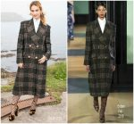 "Lily James  In Erdem @ ""The Guernsey Literary & Potato Peel Pie Society"" Photocall in Guernsey"