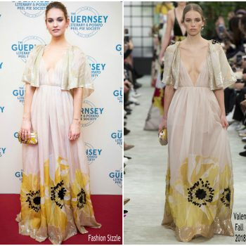 lily-james-in-valentino-the-guernsey-literary-potato-peel-pie-sciety-guernsey-premiere