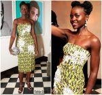 Lupita Nyong'o In Prada  @ Micaela Erlanger's 'How to Accessorize' Book Dinner Celebration