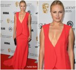 Malin Akerman In Greta Constantine  @ British Academy Game Awards