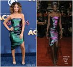 Maren Morris In Christian Siriano  @ 2018 ACM Awards