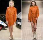 Margot Robbie In Isabel Marant  @  Nissan Formula E Launch Tour