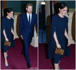 Meghan Markle  In Stella McCartney  @ Queen' Elizabeth's  92nd Birthday Celebration