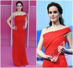 Michelle Dockery In Roland Mouret  @ 'The Truth About The Harry Quebert Affair' Cannes Screening