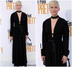Michelle Williams In  Louis Vuitton  @   'I Feel Pretty' LA Premiere