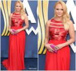 Miranda Lambert In  Georges Chakra @ 2018 Academy Of Country Music Awards
