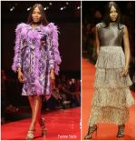 Naomi Campbell Rocks The Runway @ Arise  Fashion Week In Lagos