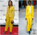 Naomie Harris In Roksanda  @ Marriot International Loyalty Programme Launch Party