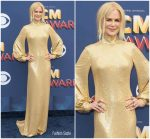 Nicole Kidman In  Michael Kors Collection @ 2018  Academy of Country Music Awards