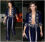 Olivia Culpo In  Raisa & Vanessa  @ Gigi Hadid's 23rd Birthday Party  In New York