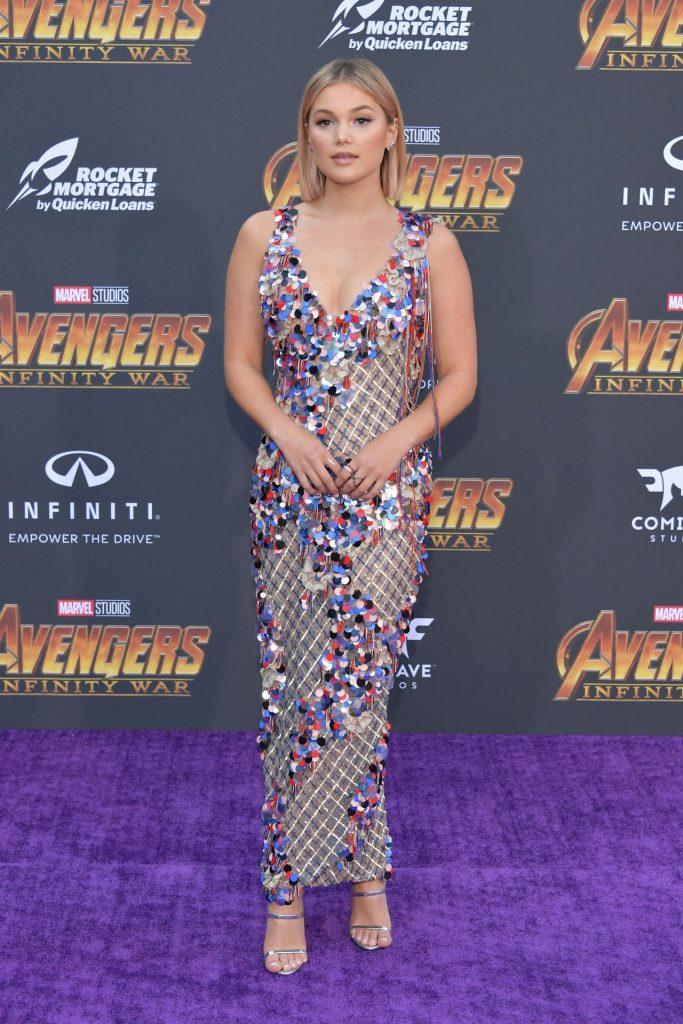 Olivia Holt In Galia Lahav Avengers Infinity War La