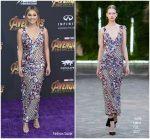 Olivia Holt In Galia Lahav  @ 'Avengers: Infinity War' LA Premiere