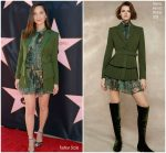 Olivia Munn In Alberta Ferretti @  Eva Longoria's Star On The Hollywood Walk Of Fame Unveiling