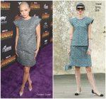 Pom Klementieff In Chanel  @  'Avengers: Infinity War' LA Premiere