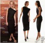Poppy Delevingne In Narciso Rodriguez  @ 2018 National Geographic Upfront