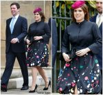 Princess Eugenie  In  Oscar de la Renta @  Easter Service